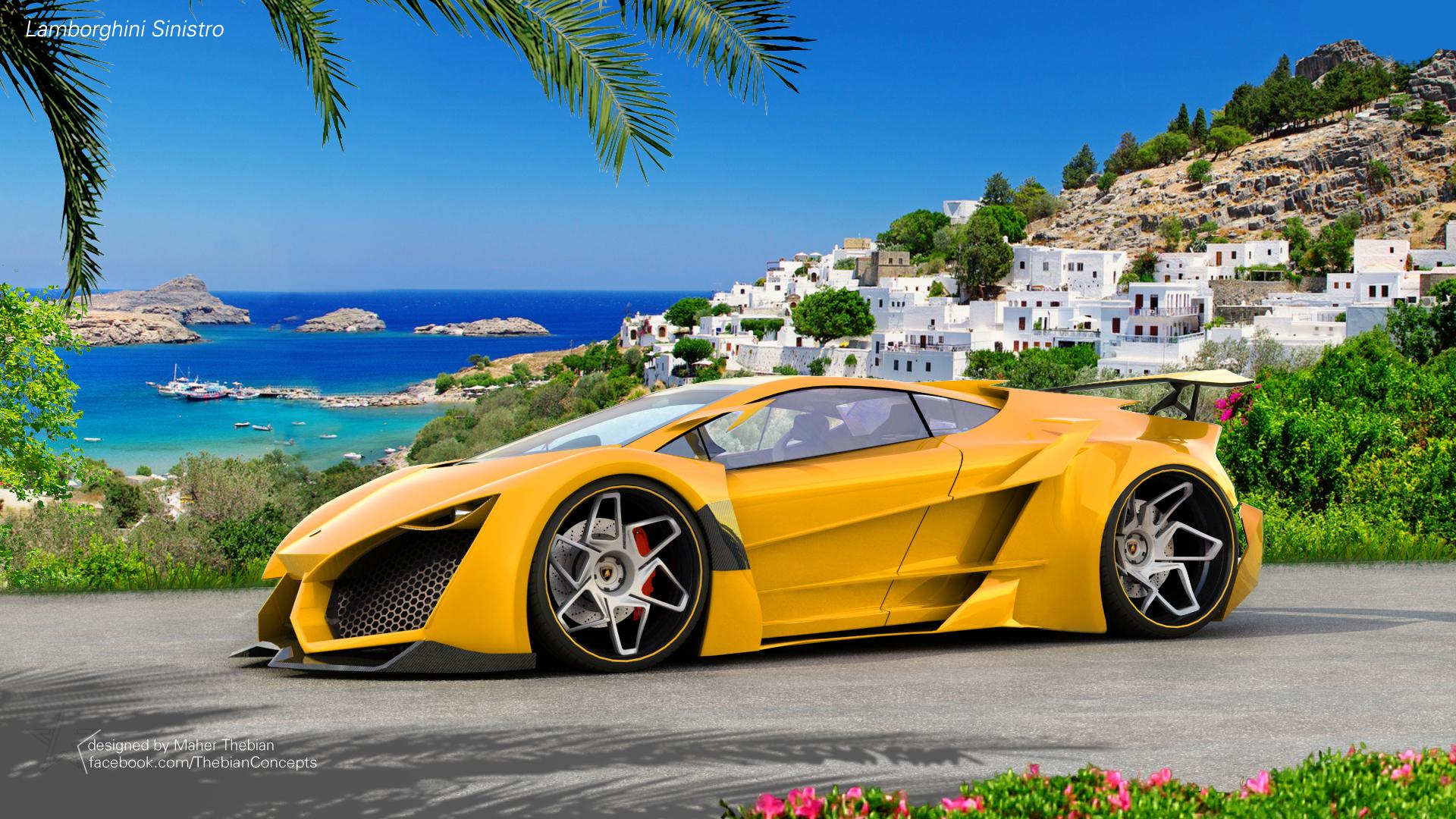 Vehicles   Lamborghini Lamborghini Sinistro Wallpaper Idea