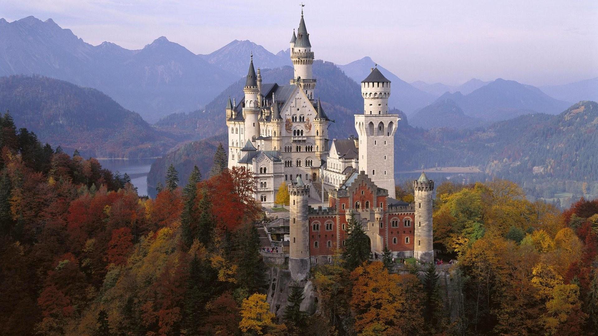 neuschwanstein castle full hd wallpaper and background