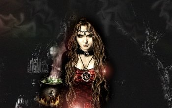 Fantasy - Witch Wallpapers and Backgrounds ID : 433195