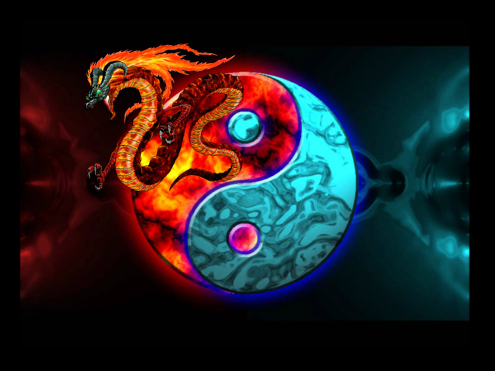 Yin Amp Yang Computer Wallpapers Desktop Backgrounds