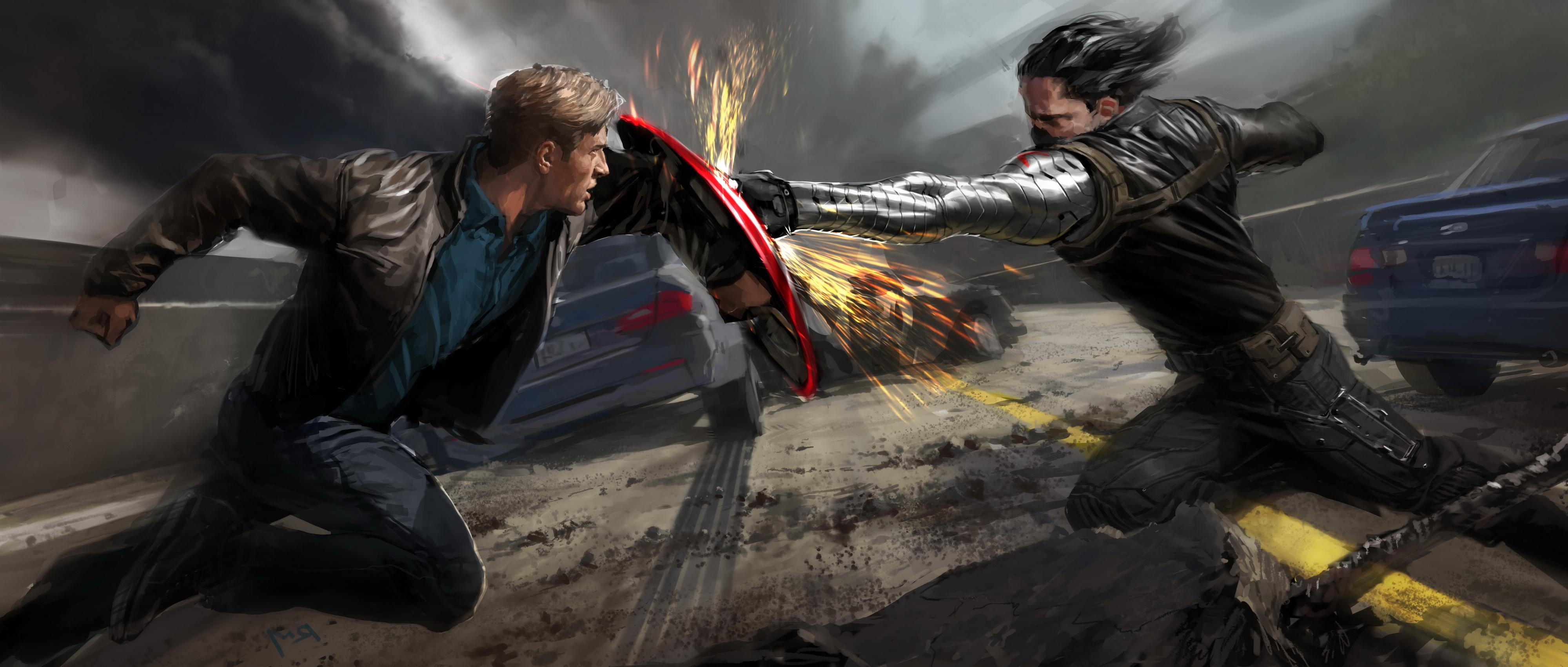Captain America: The Winter Soldier HD Wallpaper ...