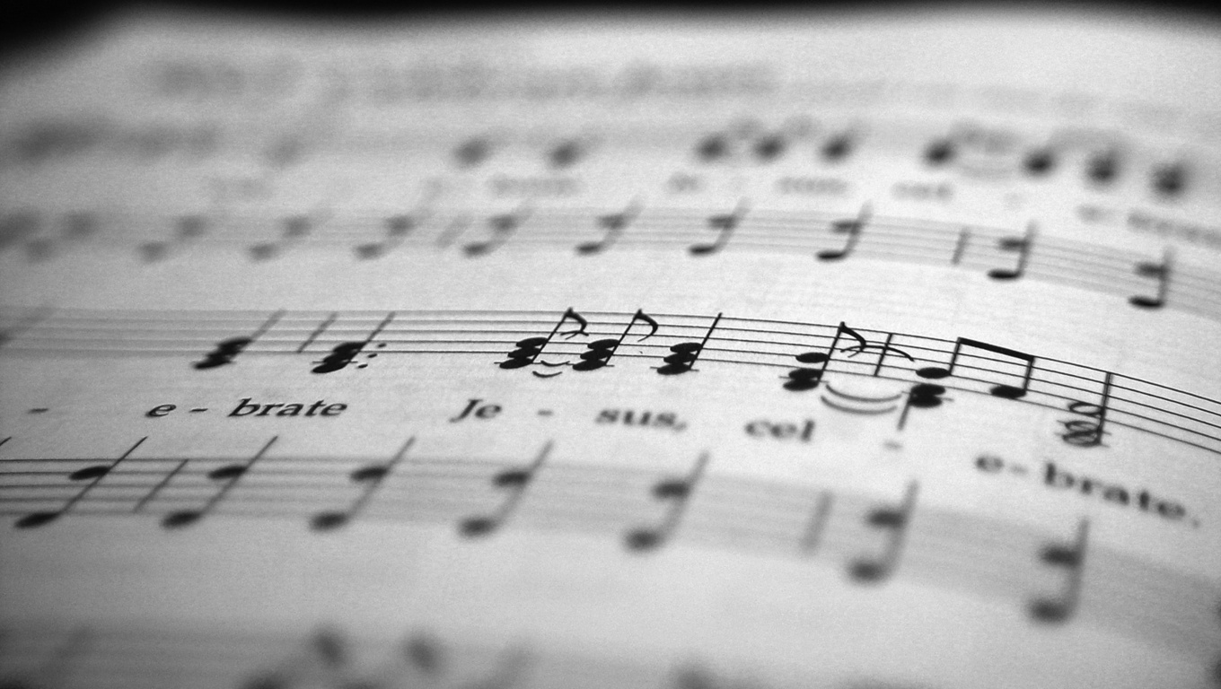 music sheets Wallpaper and Background Image | 1360x768 ...