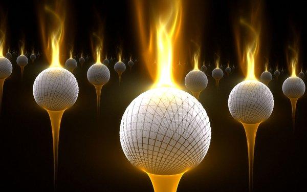 Sports Golf Ball HD Wallpaper | Background Image