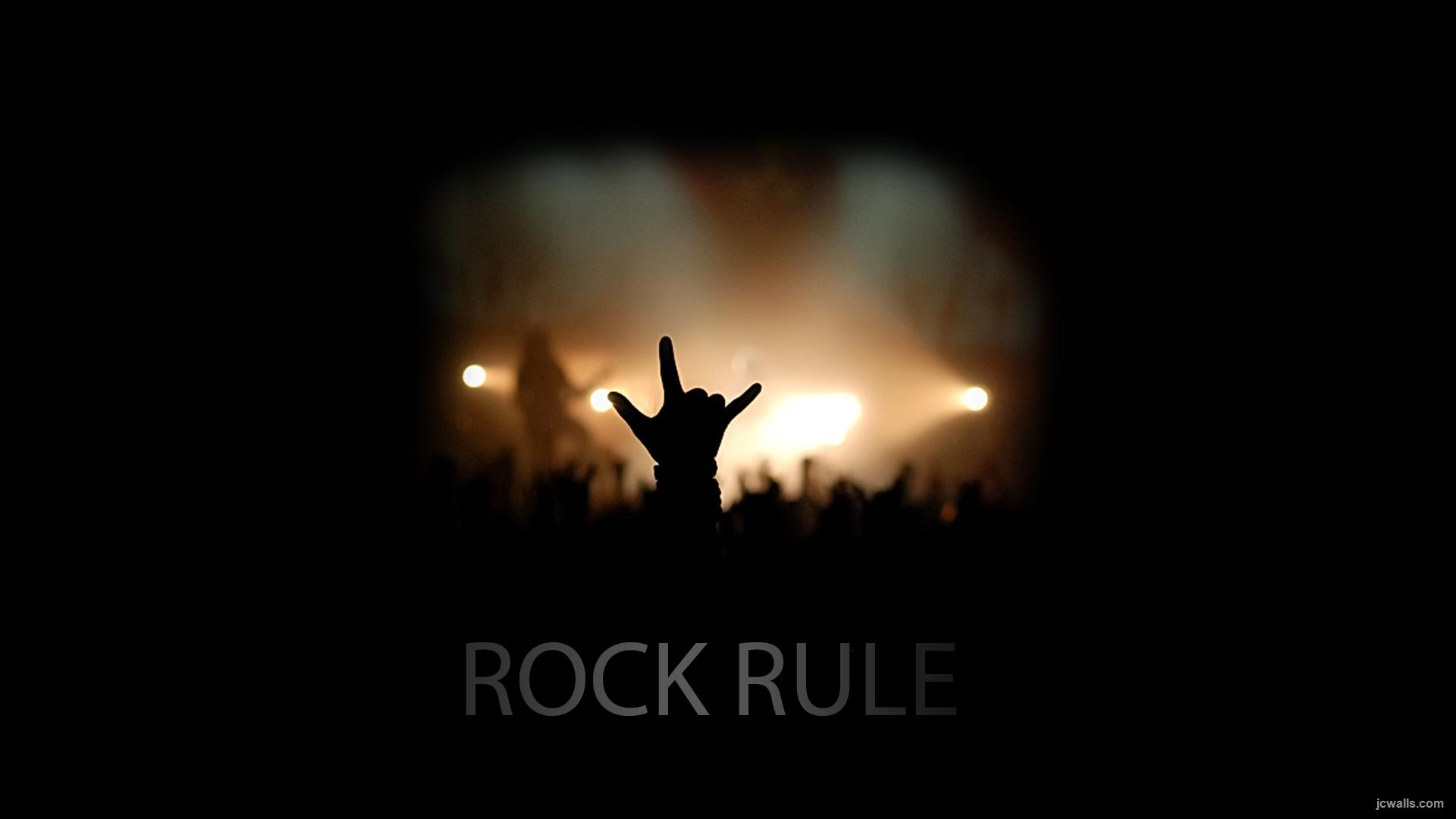 Rock Music Wallpaper: Rock Rule Full HD Wallpaper And Background Image