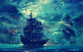 Fantasy - Ship Wallpapers and Backgrounds ID : 436420