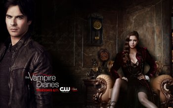 Televisieprogramma - Vampire Diaries Wallpapers and Backgrounds ID : 436562