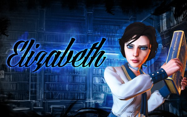 Video Game Bioshock Infinite Bioshock Elizabeth Blue Riptide Star Galaxy Space HD Wallpaper | Background Image