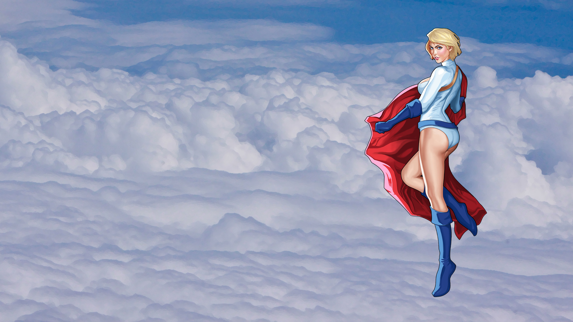 powergirl full hd wallpaper and background image | 1920x1080 | id:438587