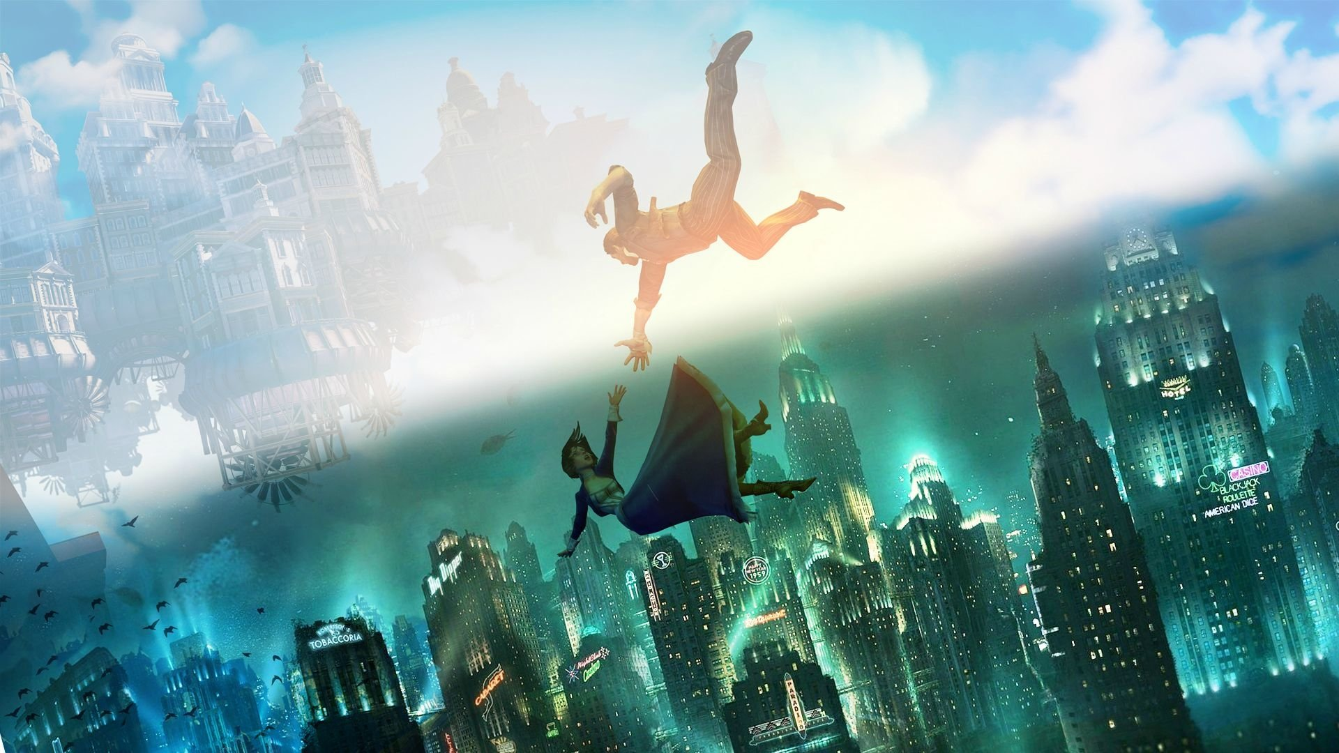 185 Bioshock Infinite HD Wallpapers