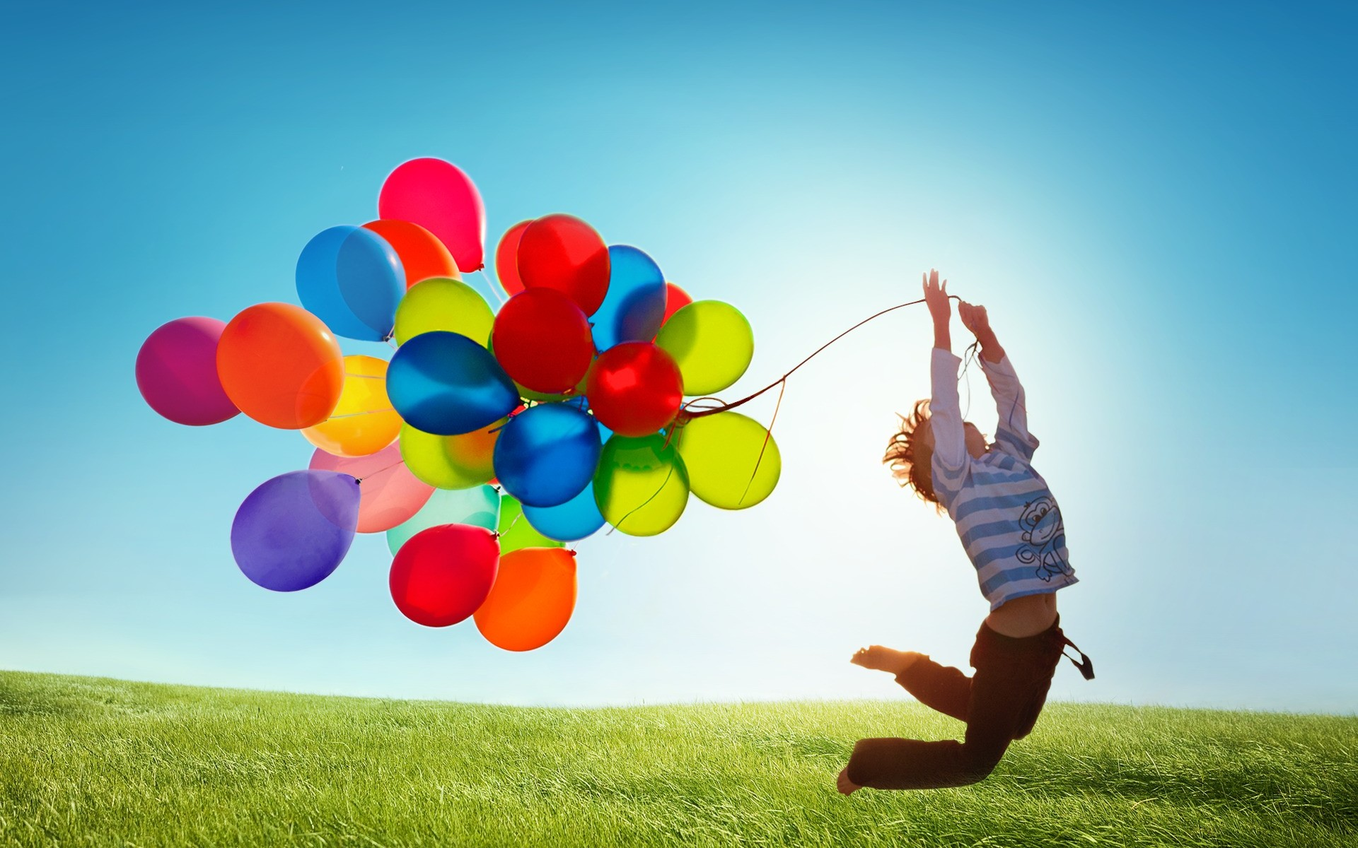 Balloon HD Wallpaper