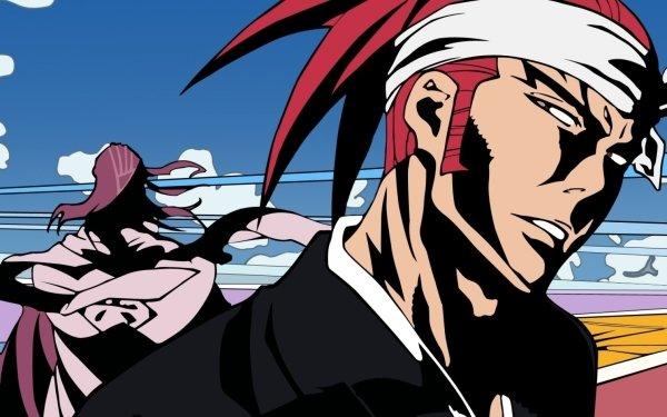 Anime Bleach Byakuya Kuchiki Renji Abarai Fond d'écran HD   Arrière-Plan