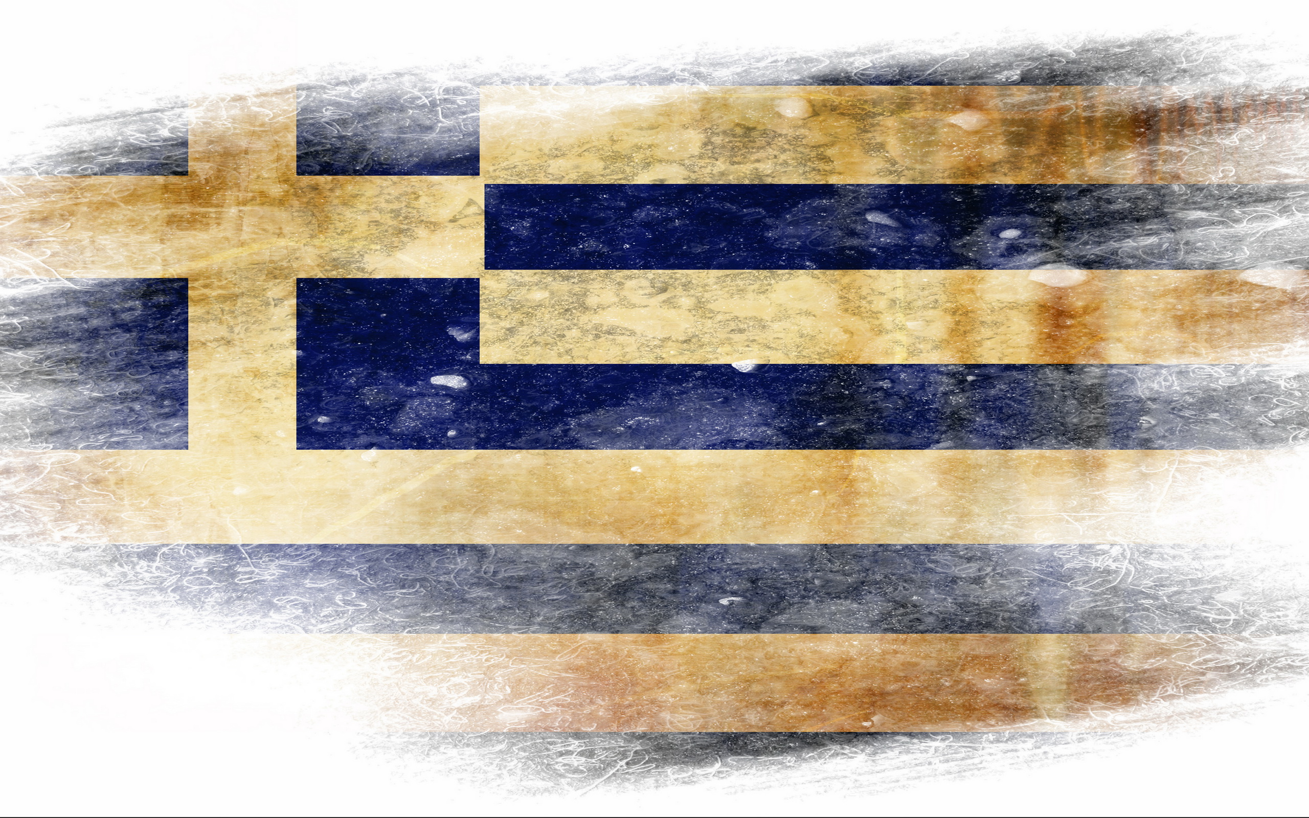 Flag Of Greece Hd Wallpaper Background Image 2560x1600 Id