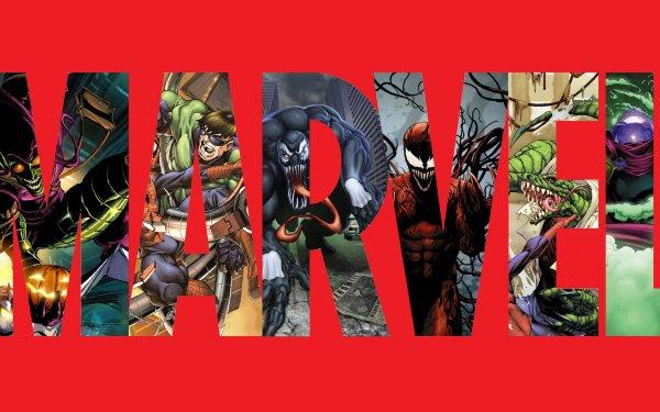 Comics Marvel Comics Green Goblin Venom Carnage Doctor Octopus Lizard Mysterio Logo HD Wallpaper | Background Image