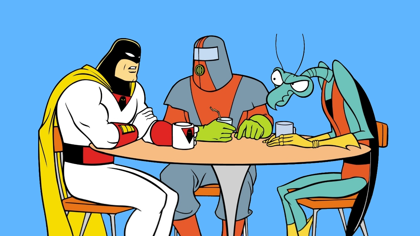 Space Ghost Wallpaper And Background Image 1366x768 Id442001