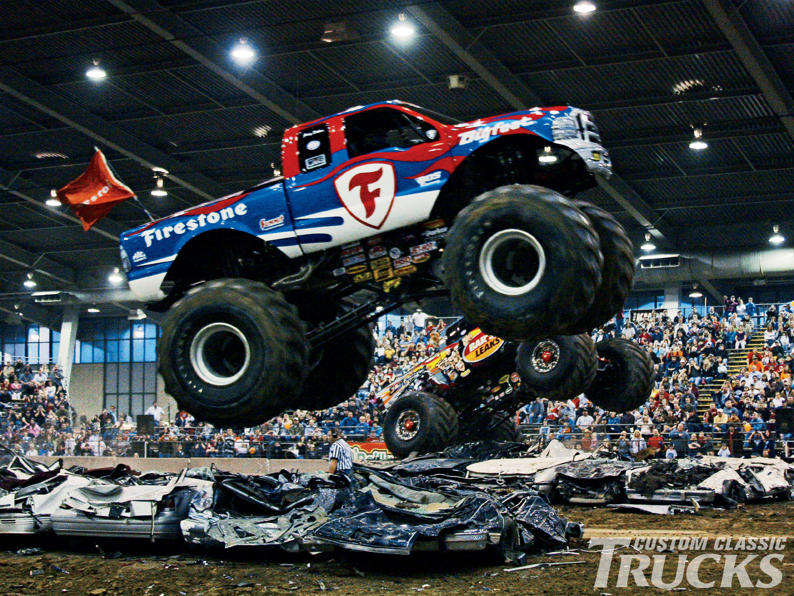 monster truck computer wallpapers desktop backgrounds