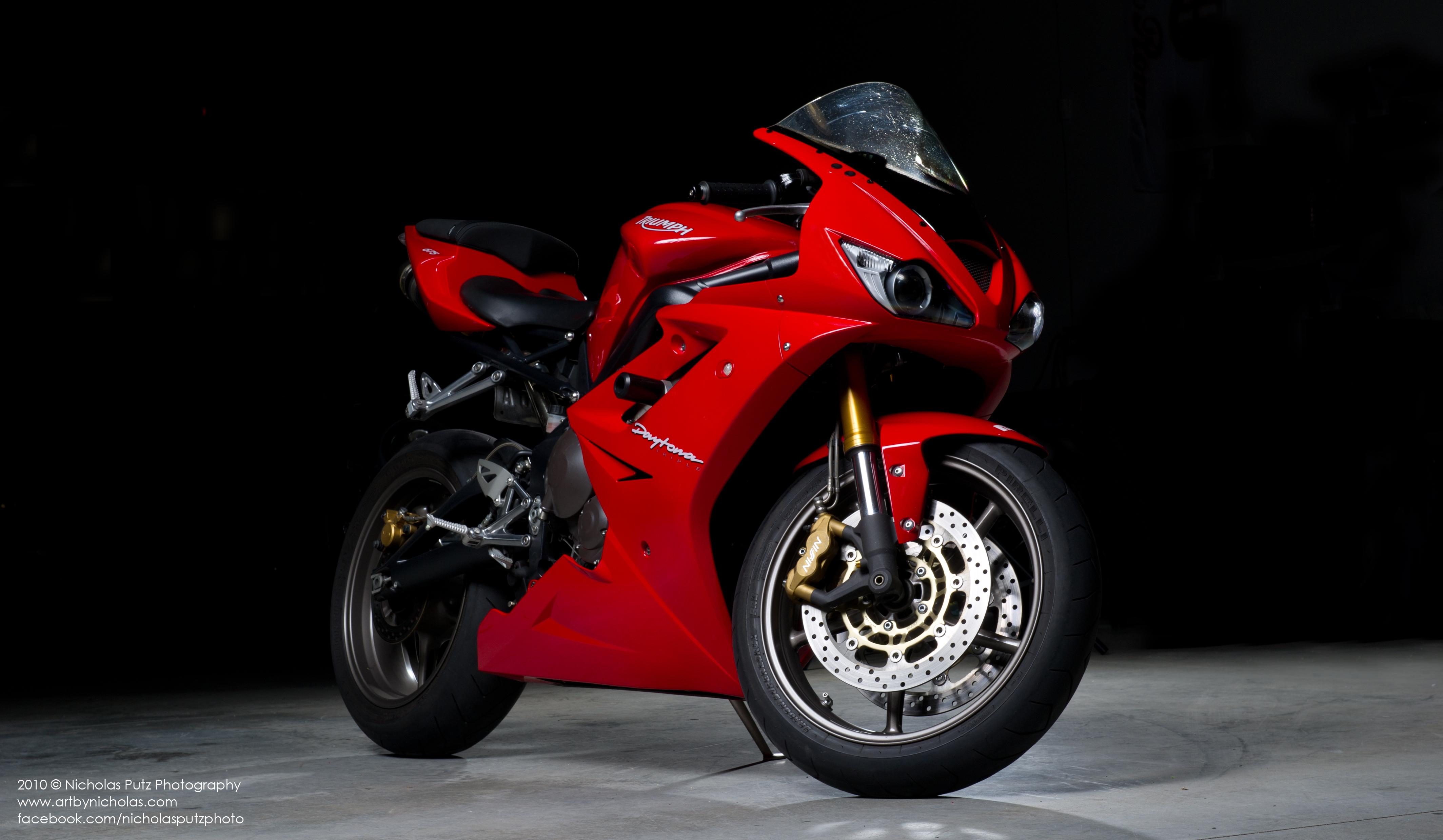 Triumph Motorcycle 4k Ultra Fondo De Pantalla Hd Fondo De
