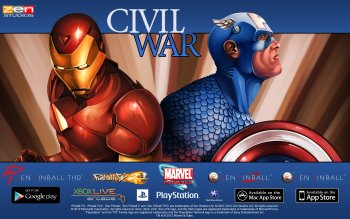 Video Game - Marvel Pinball: Civil War Wallpapers and Backgrounds ID : 444223