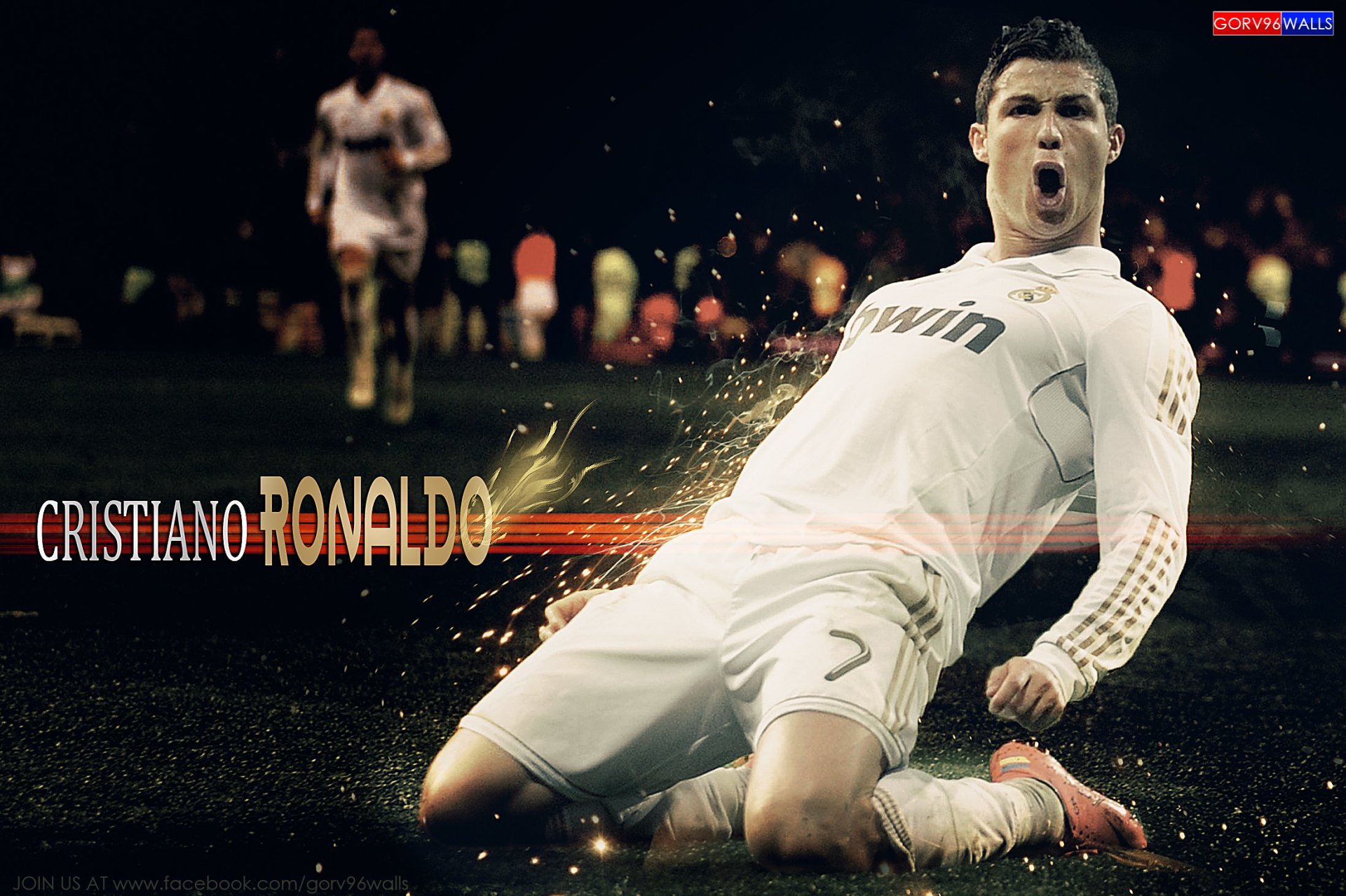 Art Of Cristiano Ronaldo Fans Wallpaper Sport Soccer: Cristiano Ronaldo HD By GORV96WALLS HD Wallpaper