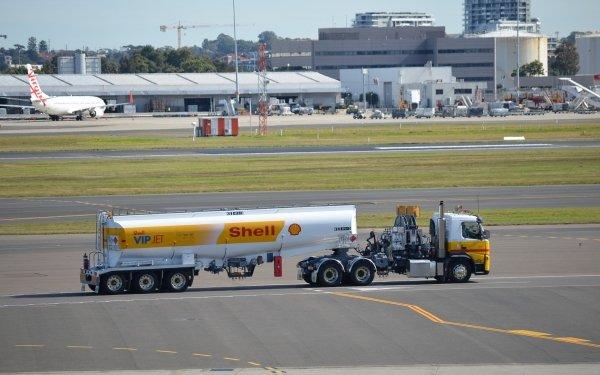 Vehicles Shell Vip Jet Tanker Tanker Refueler Airport HD Wallpaper   Background Image