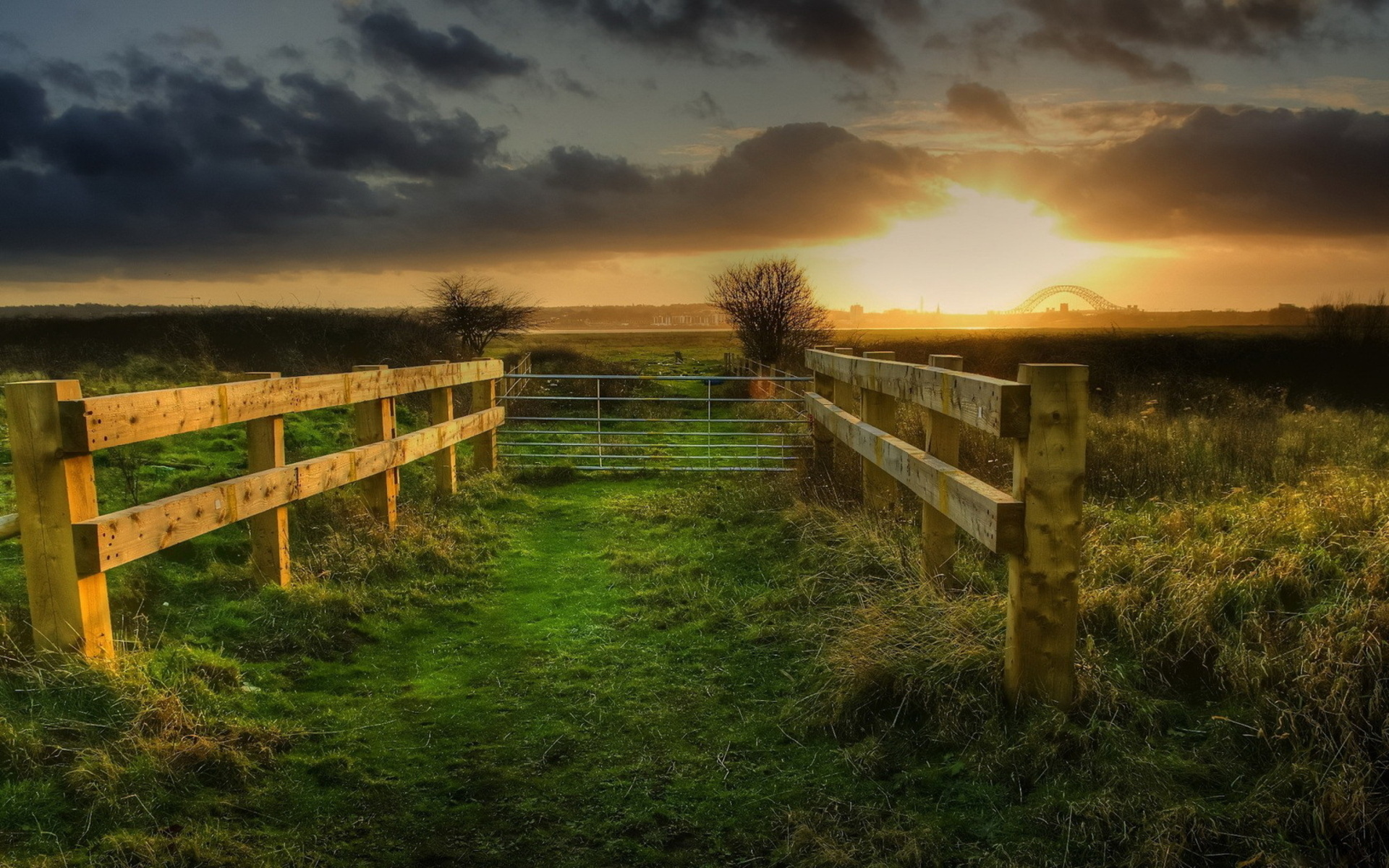 Fence HD Wallpaper   Background Image   1920x1200   ID ...