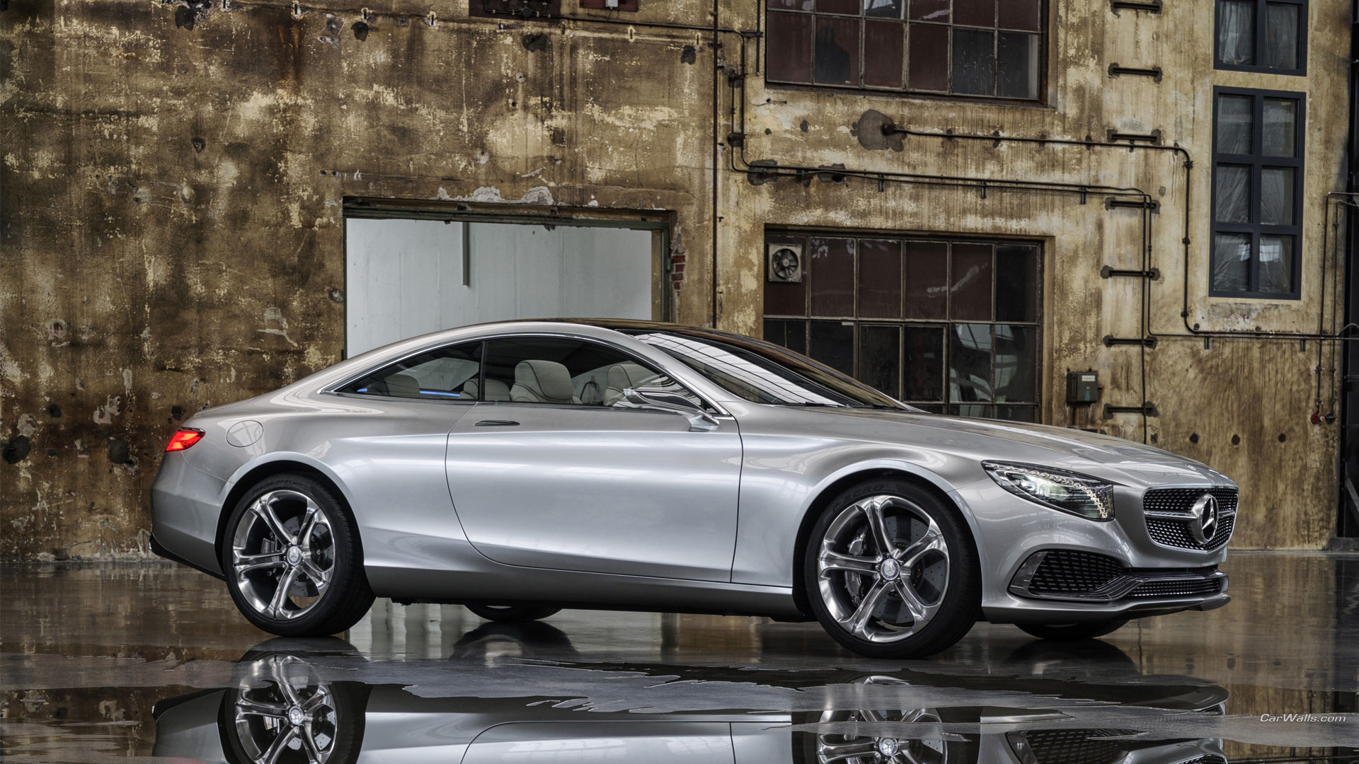 Mercedes Benz S Class Coupe Hd Wallpaper Background Image
