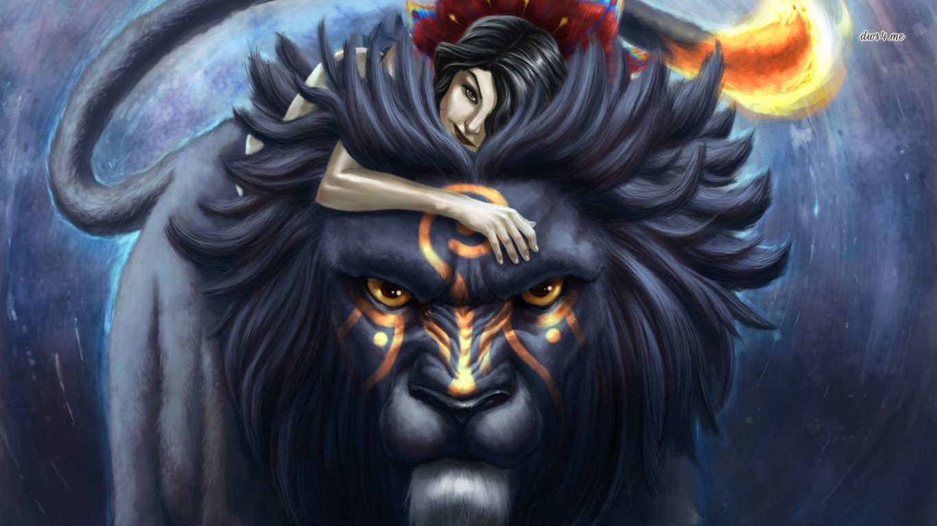 Fantasy lion - photo#24