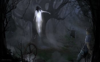 Dark - Ghost Wallpapers and Backgrounds ID : 450191