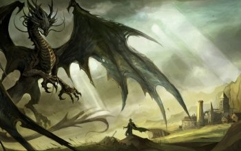 Fantasy - Dragon Wallpapers and Backgrounds ID : 451183
