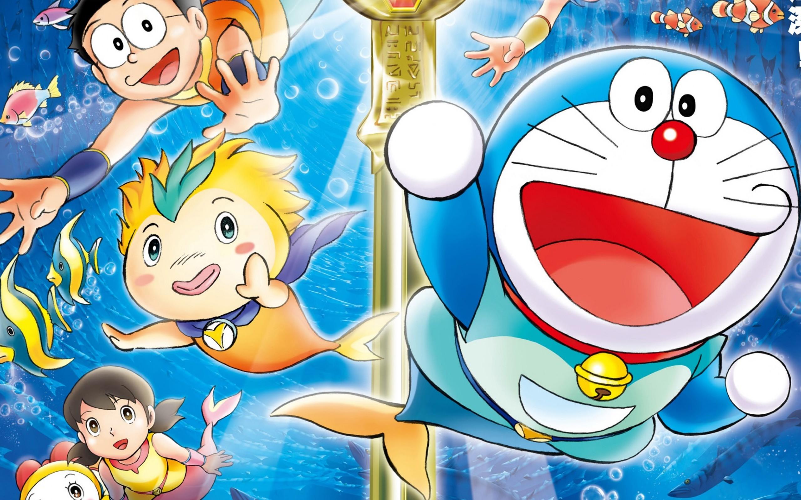 Doraemon full hd wallpaper and background image 2560x1600 id452420 anime doraemon wallpaper voltagebd Image collections