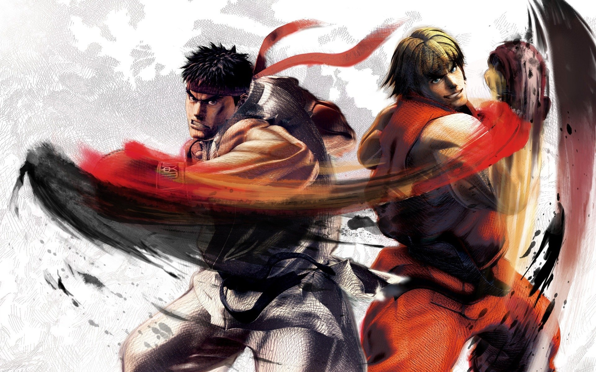 ryu and ken full hd wallpaper and background image | 1920x1200 | id