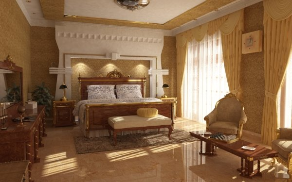 Construction Humaine Pièce Bedroom Interior Fond d'écran HD | Image