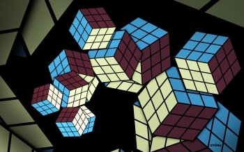 CGI - Cubes Wallpapers and Backgrounds ID : 454301