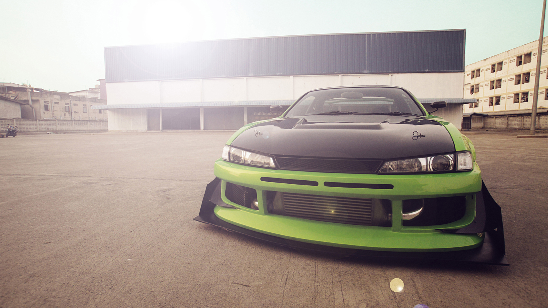nissan silvia s14 full hd wallpaper and background image
