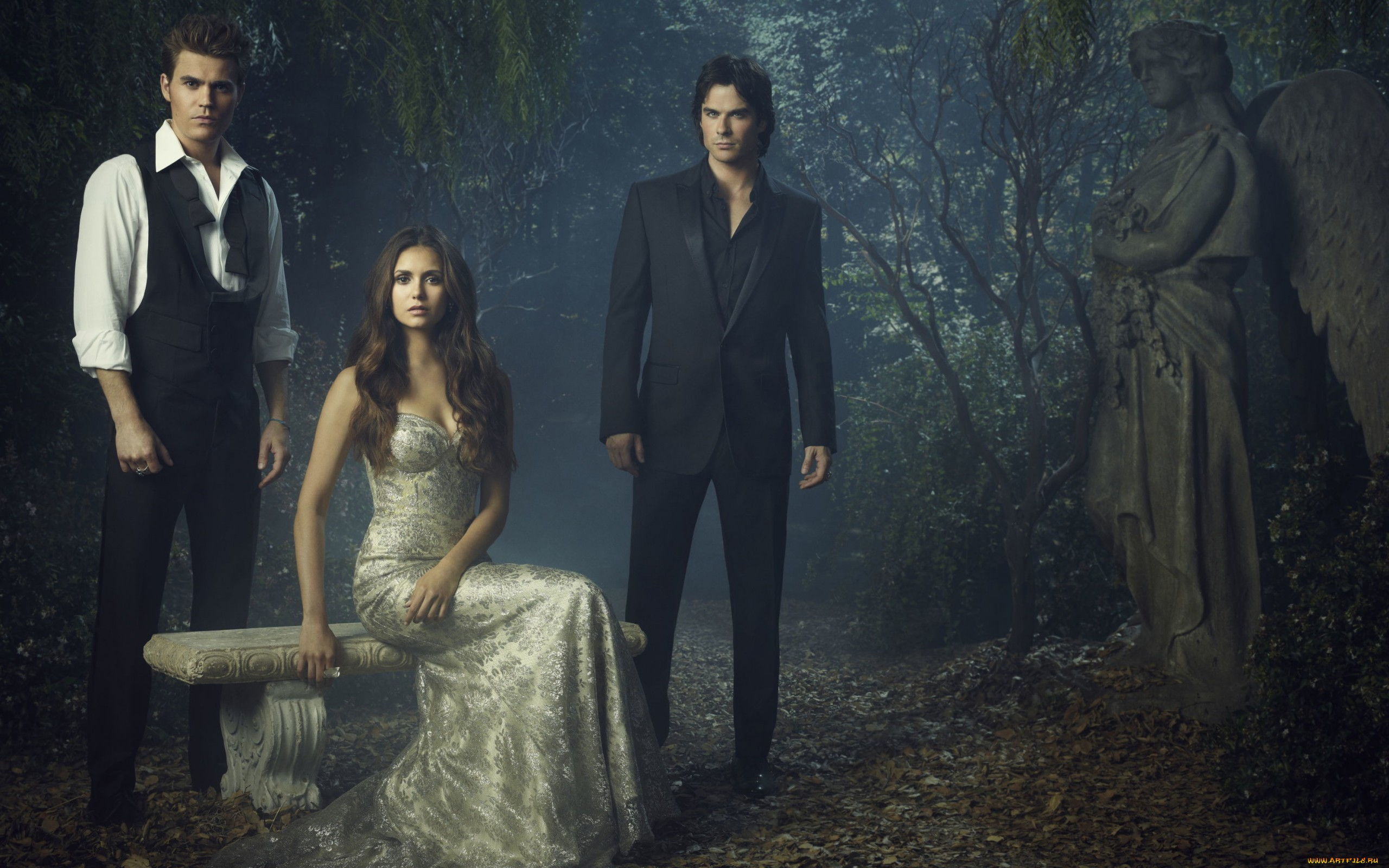 79 The Vampire Diaries Hd Wallpapers Background Images Wallpaper