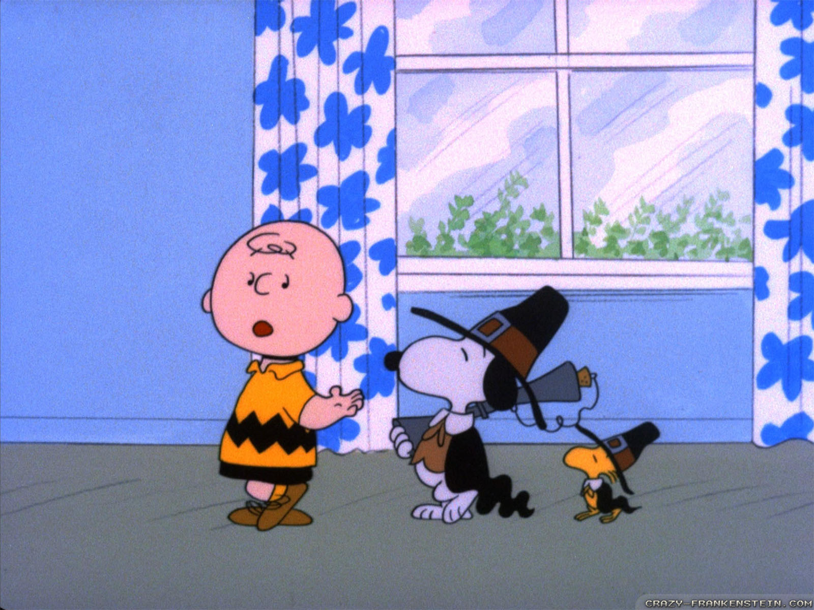 A Charlie Brown Thanksgiving Wallpaper And Background Image