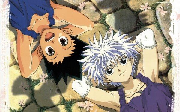 Anime Hunter x Hunter Gon Freecss Killua Zoldyck Fondo de pantalla HD | Fondo de Escritorio