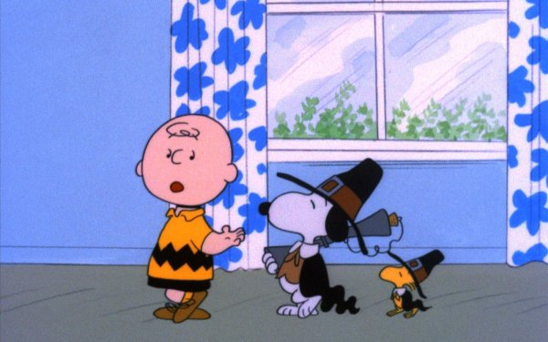 Movie A Charlie Brown Thanksgiving Peanuts Charlie Brown Snoopy HD Wallpaper   Background Image