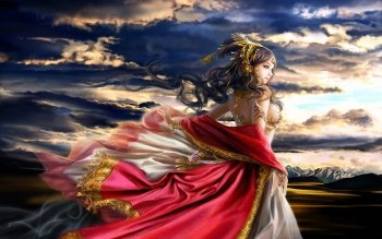 Fantasy - Women Wallpapers and Backgrounds ID : 457414