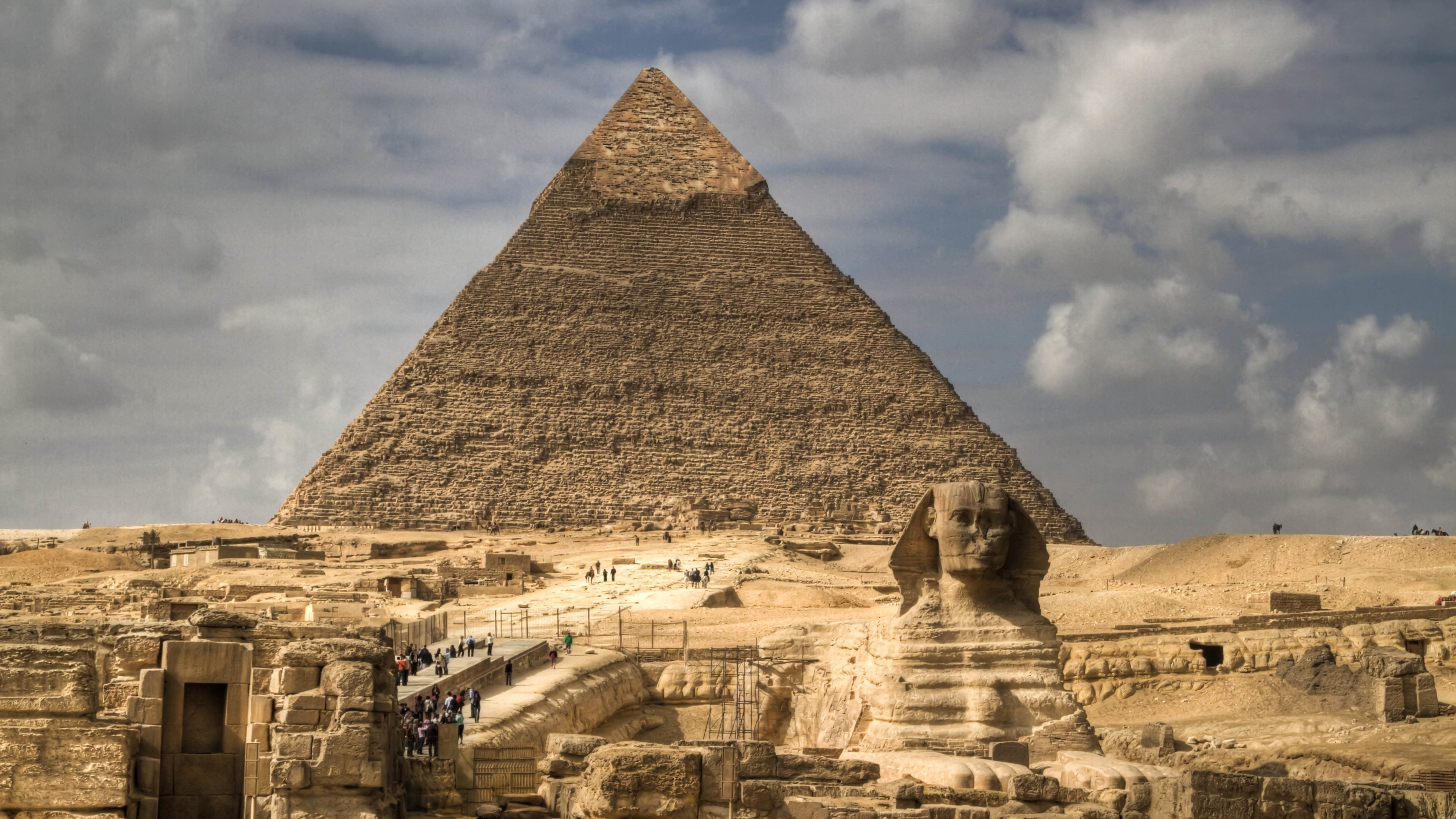 Pyramid 4k ultra hd wallpaper and background 3840x2160 for 3d wallpaper for home egypt