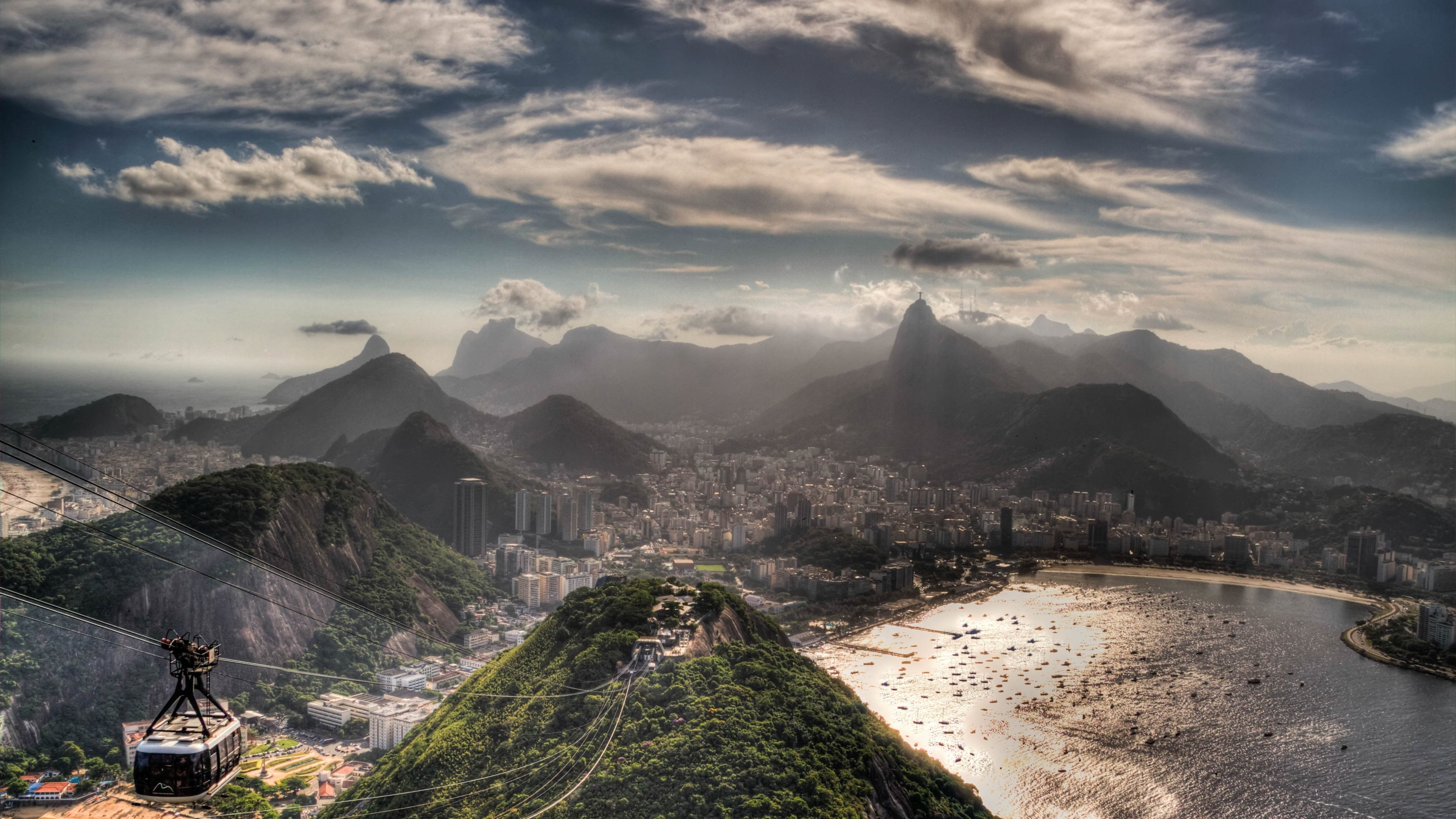 Rio De Janeiro 4k Ultra Papel De Parede Hd Plano De Fundo