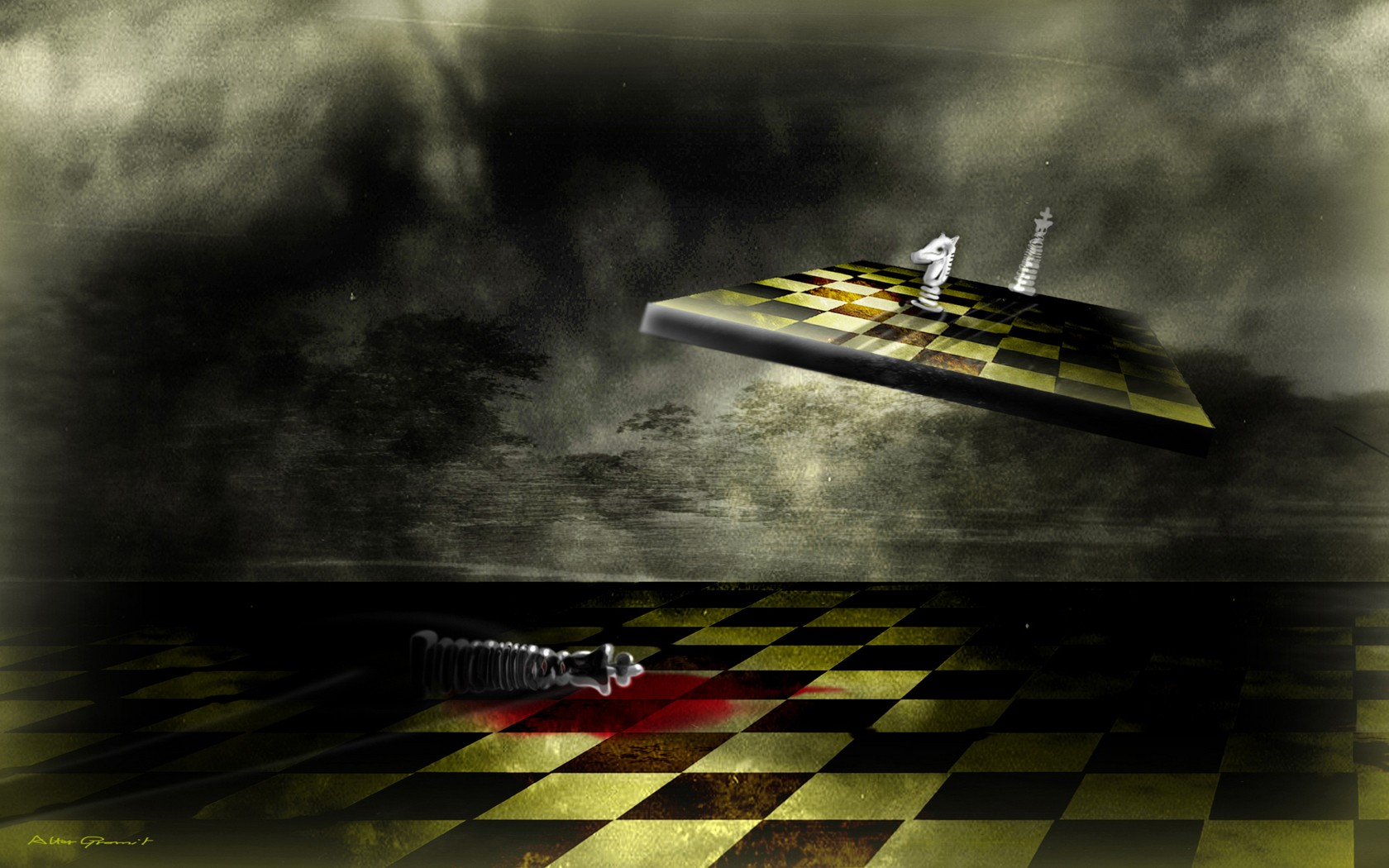 Chess wallpaper and background image 1680x1050 id460221 game chess wallpaper voltagebd Images