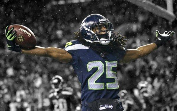 Sports Seattle Seahawks Football Richard Sherman HD Wallpaper | Background Image