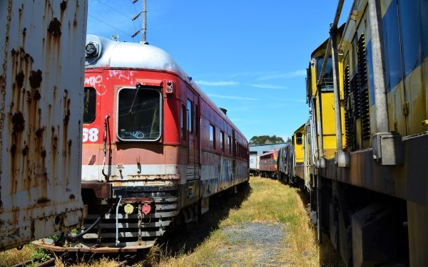 Vehicles Train Lithgow Railcar HD Wallpaper | Background Image