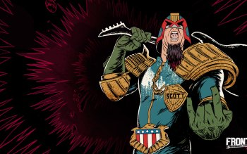 Comics - Judge Dredd Wallpapers and Backgrounds ID : 463080