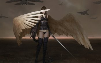 Fantasy - Angel Warrior Wallpapers and Backgrounds ID : 463773
