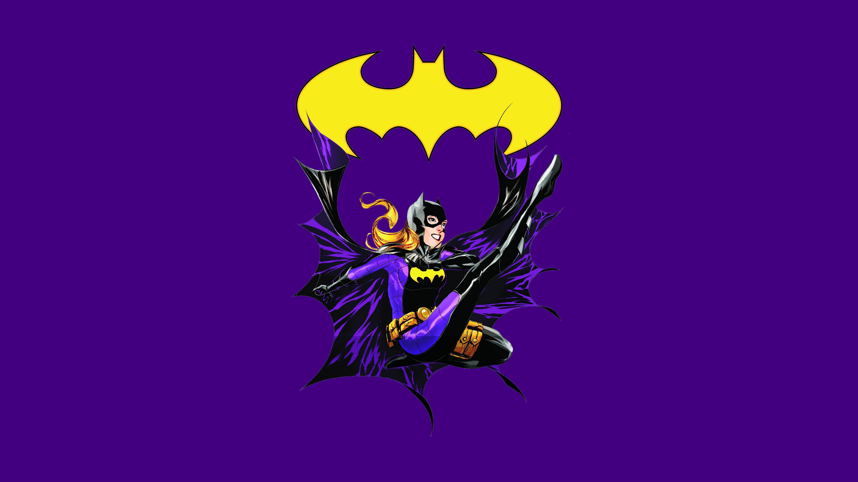 Vibrant Wallpapers Hd Backgrounds: Batgirl 5k Retina Ultra HD Wallpaper