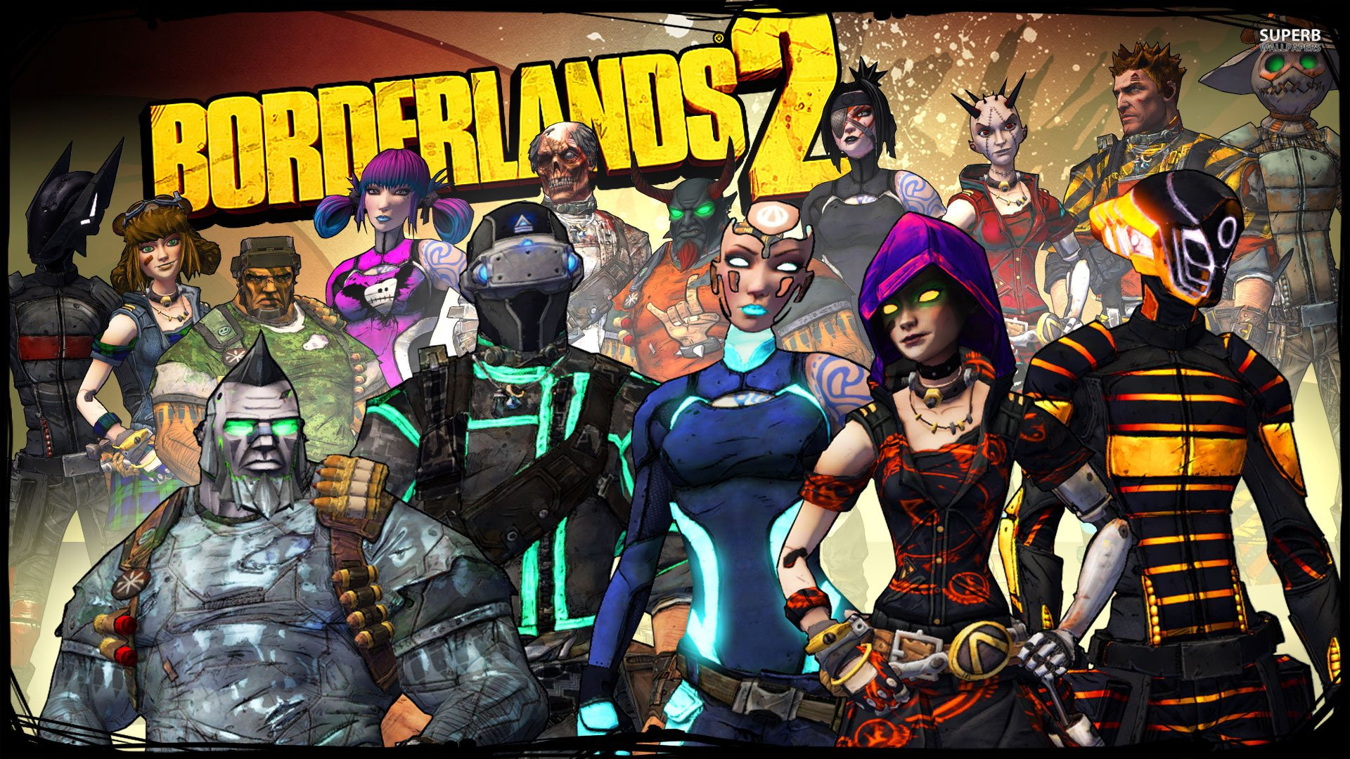 Borderlands 2 Hd Wallpaper Background Image 1920x1080 Id