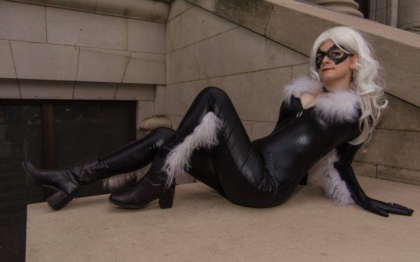 Women Cosplay Black Cat HD Wallpaper | Background Image