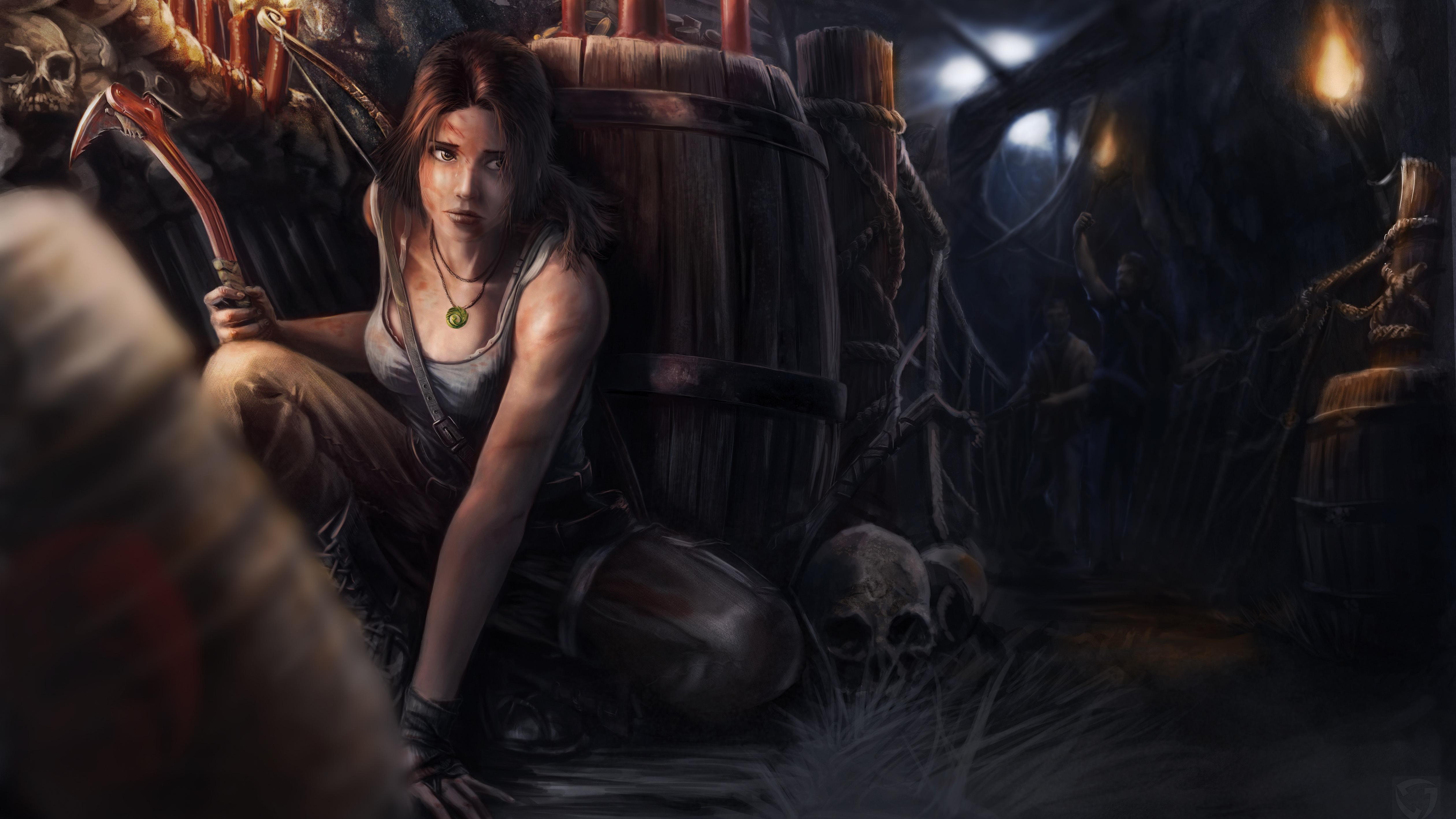 Tomb Raider 4k Ultra Papel De Parede HD