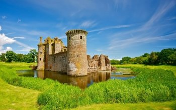 Man Made - Caerlaverock Castle Wallpapers and Backgrounds ID : 466420